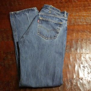 Levi's 501 Button Fly Jeans 32 x 34 - 27